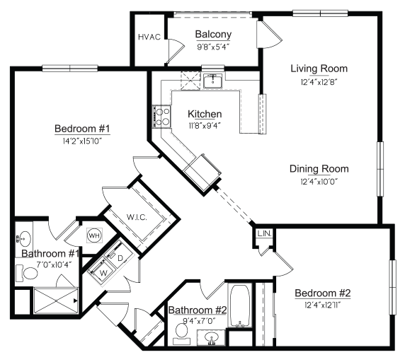 Orange Floorplan