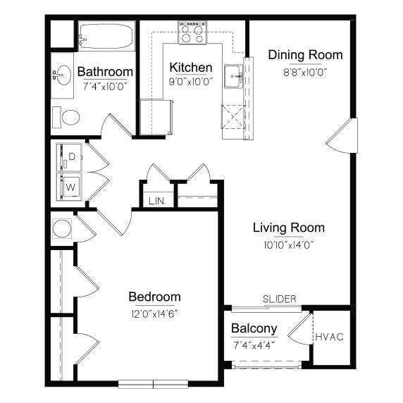 Ulster Floorplan