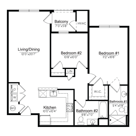 Dutchess Floorplan